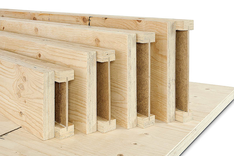 Engineered Wood Floor Joists Inch Oc Engineered Lumber